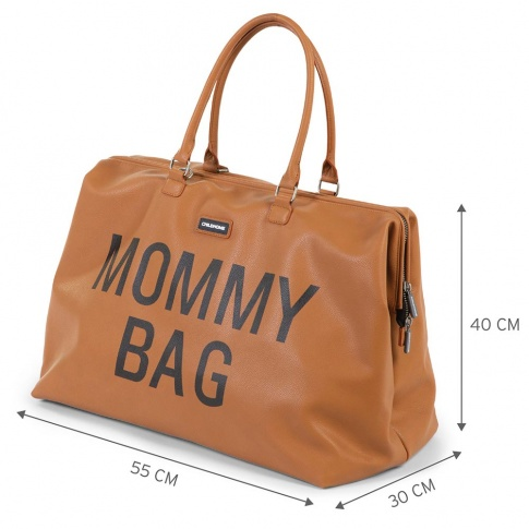 Childhome Sac à langer Mommy Bag Brun