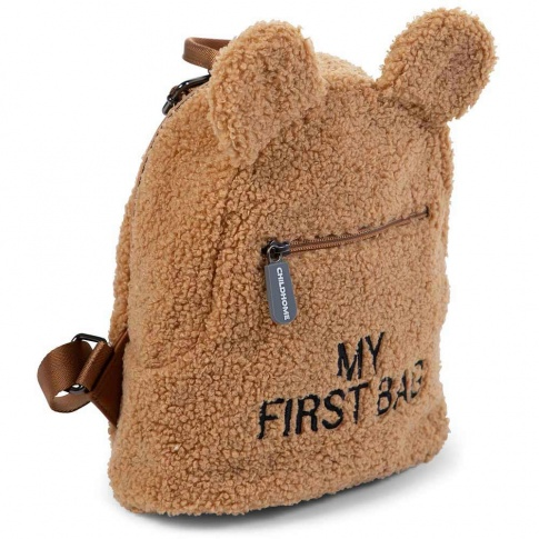 Childhome Sac à dos bébé My First Bag Teddy beige 24 cm